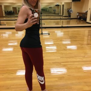 Must-have Workout Leggings I recently received a pair of Nike leggings for my birthday and have pretty much been in love with them ever since!