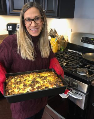 Easy Breakfast Casserole to Try Today! I wanted to share this delicious and easy breakfast casserole I made for my family Christmas morning. I prepared it the night before so it was simple!