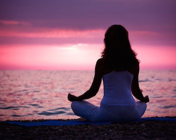 Lose Weight by Meditating If you are trying to lose weight and keep it off, meditation can be an effective complement to eating healthy and exercising.