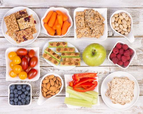 Who Wants to Snack Smarter? If you snack between meals, those extra portions have a big impact on your health. Actually, snacking isn't a bad thing as long as you're doing it right.